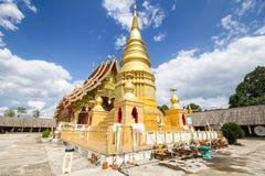 Wat Phra That Duang Deaw Lamphun Thailand Arkivfoton
