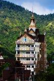Wat Phra Że Phasornkaew jest miejscem dla medytaci Zdjęcia Stock