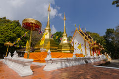 Wat Phra ese Doi Tung Imagen de archivo