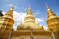 Wat Phra That Ha Duang, Lamphun Tailândia Imagem de Stock Royalty Free
