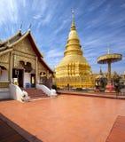 Wat Phra That Hariphunchai Lamphun Fotografering för Bildbyråer