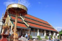 Wat Phra That Hariphunchai Stock Photography
