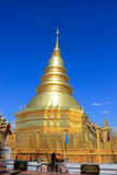 Wat Phra That Hariphunchai Royalty Free Stock Image
