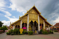 Wat Phra That Hariphunchai Stock Photos