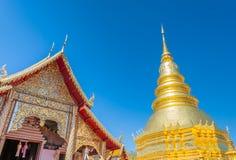 Wat Phra That Hariphunchai, Thailand . Stock Image