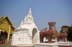 Wat Phra That Haripunchai Royalty Free Stock Images