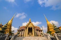 Wat Phra Kaeo, świątynia Szmaragdowy Buddha i dom, Obrazy Stock