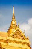 Wat Phra Kaeo, świątynia Szmaragdowy Buddha i dom, Obrazy Royalty Free