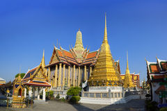 Wat Phra Kaeo, ναός του σμαραγδένιου Βούδα Στοκ Εικόνα