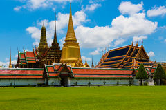 Wat Phra Kaeo Royalty-vrije Stock Foto