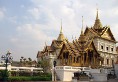 Wat Phra Kaeo a Bangkok immagine stock libera da diritti