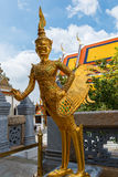 Wat Phra Kaeo,Bangkok-Grand Palace & Temple of the Emerald Buddha or Wat Phra Kaeo in Bangkok, Thailand Royalty Free Stock Photo