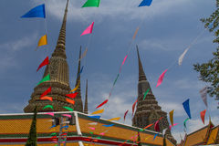 Wat Phra Kaeo in Bangkok Stock Photo