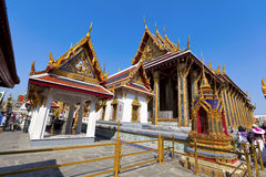 Wat Phra Kaeo,Bangkok,Thai land Royalty Free Stock Photo