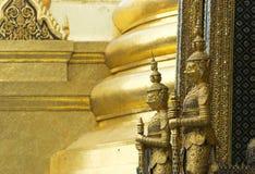 Wat Phra Kaeo in Bangkok, Thailand Stock Afbeelding