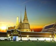 Wat phra kaeo bangkok Thailand Royalty Free Stock Image