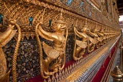 Wat Phra Kaeo in Bangkok Royalty Free Stock Photo