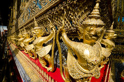 Wat Phra Kaeo in Bangkok Royalty Free Stock Photos
