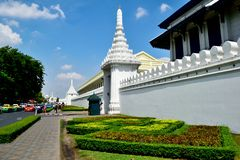 Wat Phra Kaeo, Bangkok, Thailand. This article is about a Thai temple. For the Cambodian temple, see Silver Pagoda, Phnom Penh Royalty Free Stock Image