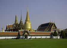 Wat Phra Kaeo - Bangkok, Thailand Royalty Free Stock Photography