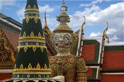 Wat Phra Kaeo, Banguecoque, Tailândia Fotografia de Stock Royalty Free