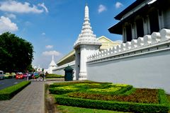 Wat Phra Kaeo, Banguecoque, Tailândia Imagens de Stock Royalty Free