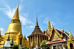 Wat Phra Kaeo, Banguecoque, Tailândia Fotos de Stock