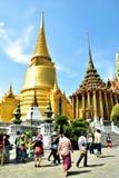 Wat Phra Kaeo, Banguecoque, Tailândia Imagem de Stock Royalty Free