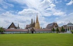 Wat Phra Kaeo, Banguecoque, Tailândia imagem de stock