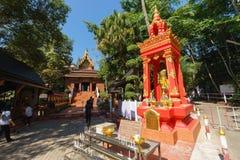 Wat Phra Kaeo - Chiang Rai, Таиланд стоковые фотографии rf