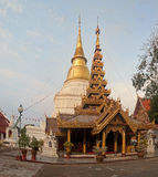 Wat Phra Kaeo Don Tao in Lampang Royalty Free Stock Photo