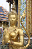 Wat Phra Kaeo golden creature Stock Photos