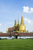 Wat phra kaeo grand palace bangkok thailand Royalty Free Stock Photos