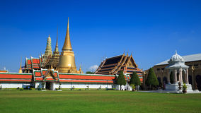 Wat Phra Kaeo. Or Grand Palace in Bangkok, Thailand Royalty Free Stock Photography