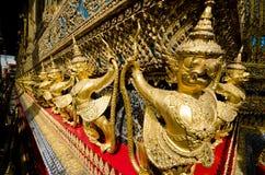 Wat Phra Kaeo i Bangkok Royaltyfria Foton
