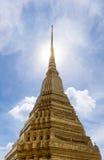 Wat Phra Kaeo lub Uroczysty pałac, świątynia Szmaragdowy Buddha Fotografia Stock