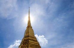 Wat Phra Kaeo lub Uroczysty pałac, świątynia Szmaragdowy Buddha Obrazy Stock