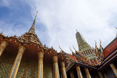 Wat Phra Kaeo ou palais grand, temple d'Emerald Buddha Photo libre de droits