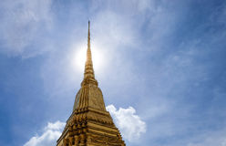Wat Phra Kaeo ou palais grand, temple d'Emerald Buddha Images stock