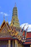 Wat Phra Kaeo przy Uroczystym pałac, Bangkok, Tajlandia Fotografia Royalty Free