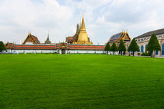 Wat Phra Kaeo Temple, bangkok, Thailand. royalty free stock image