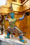 Wat Phra Kaeo Temple, bangkok, Thailand. Stock Images