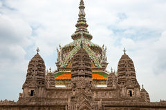 Wat Phra Kaeo Temple, bangkok, Thailand. Royalty Free Stock Photo