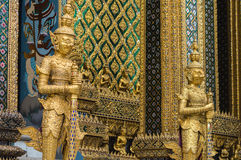 Wat phra kaeo temple bangkok thailand Stock Photo