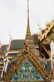 Wat phra kaeo temple bangkok thailand Royalty Free Stock Photos