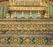 Wat phra kaeo temple bangkok thailand Stock Image