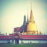 Wat Phra Kaeo temple Stock Image