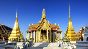 Wat Phra Kaeo, temple d'Emerald Buddha Photo stock