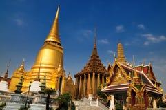 Wat Phra Kaeo, Temple of the Emerald Buddha. Inside view of Wat Phra Kaeo (also known as Temple of the Emerald Buddha), Bangkok, Thailand Stock Photography