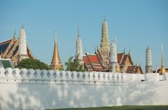 Wat phra kaeo. royalty free stock image